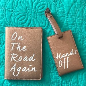 Accessories - Passport Cover & Luggage Tag matching set